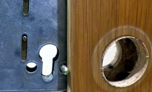 change the locking cylinder