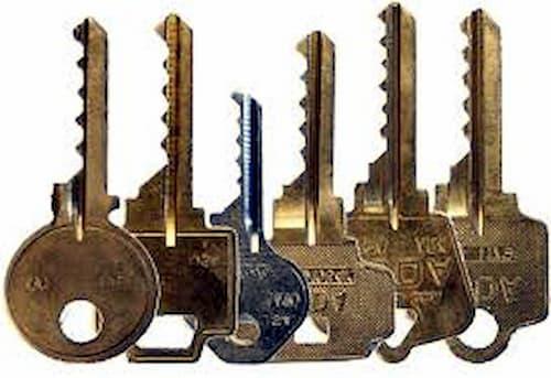 cruciform key