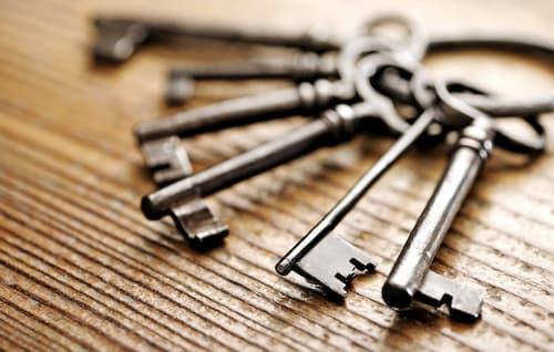 types of door keys