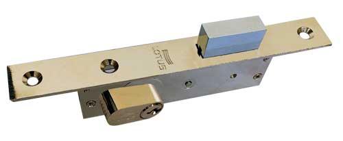 change the aluminum door lock
