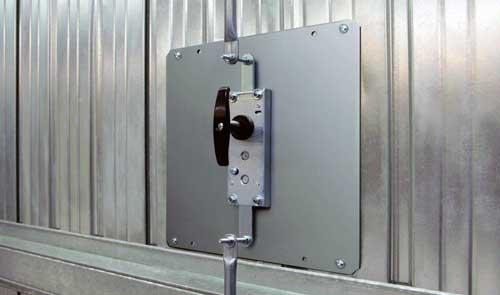 cerradura electrica puerta garaje