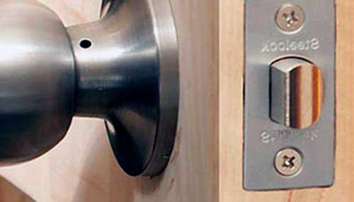 cerradura para puerta de madera interior