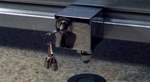 cerradura persiana metalica
