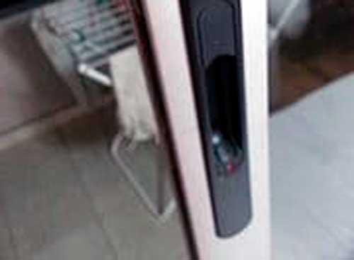 aluminum sliding door lock