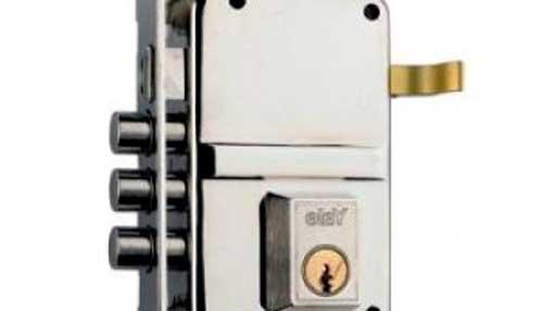 aluminum lock