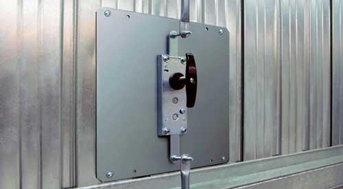 cerradura puerta basculante