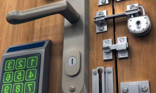 cerraduras seguras para puertas acorazadas