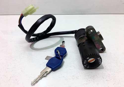 llave contacto moto
