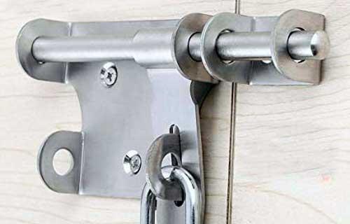 door safety latch